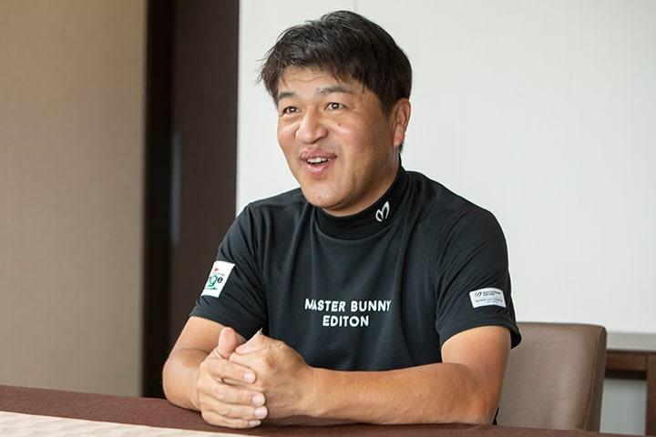 ゴルフスタジオチェンジ オーナー 白石 泰祥さん