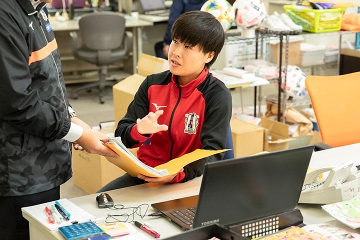 FW18 キャプテン 阿久根 真奈選手